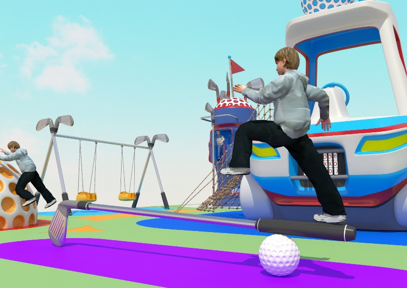 Golf-themed-playground-by-Futura-Form-2