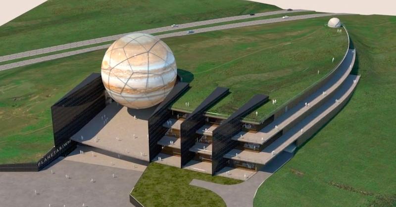 planetarium wales