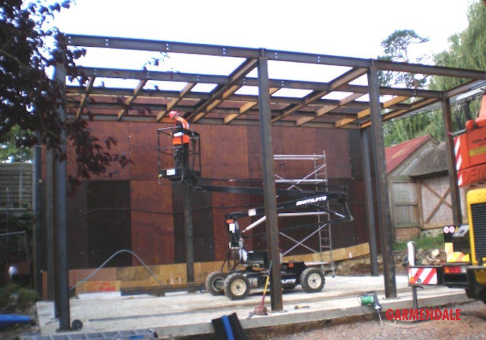 Bespoke zoo enclosure design and build by Garmendale zoo engineering