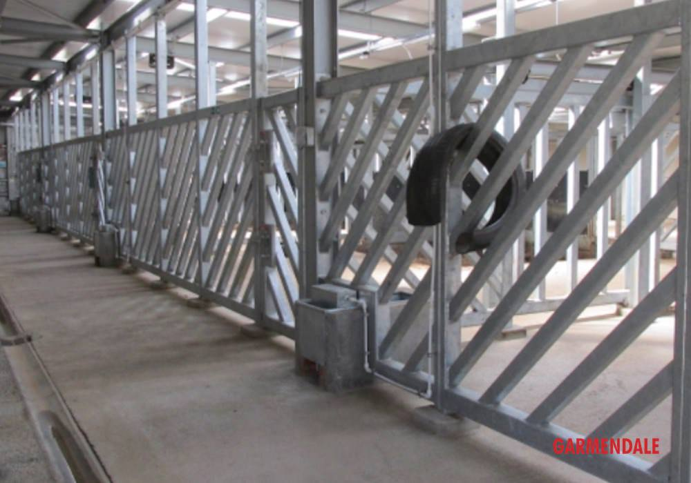 Rhino enclosure designed and built by Garmendale Engineering