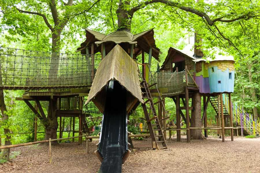 BeWILDerwood playground