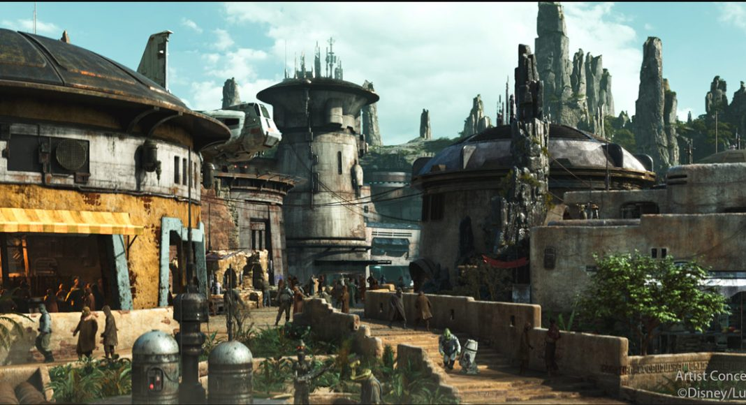 Galaxy's Edge interactive experiences story for star wars galaxys-edge-black-spire-outpost village