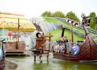 Wickie the Battle Themebuilders Plopsaland De Panne
