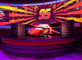 Lightning McQueen's Racing Academy Walt Disney World.