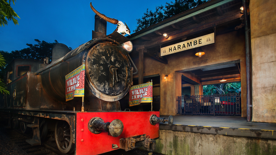 wildlife-express-train-Rafiki Planet Watch disney