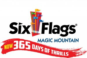 six flags magic mountain logo 365 days of thrills jpeg