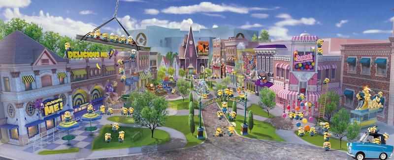 Minion Park concept art