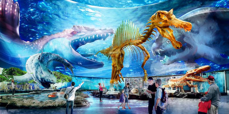 Singapore Oceanarium concept art