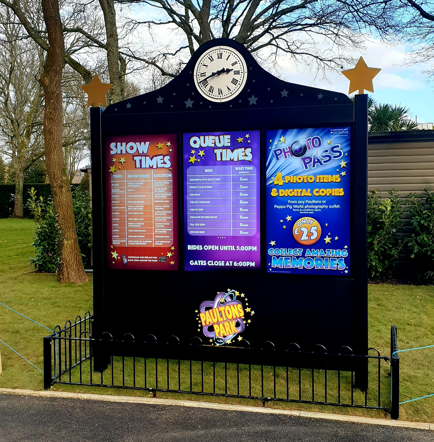Attractions.io digital signage