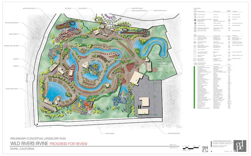 wild rivers site plan