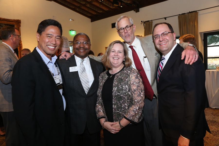 American Alliance of Museums Leadership Dinner with Laura Lott Arthur Ford Kippen Steve