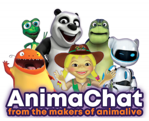 Animachat livestreaming animation mascots by animalive
