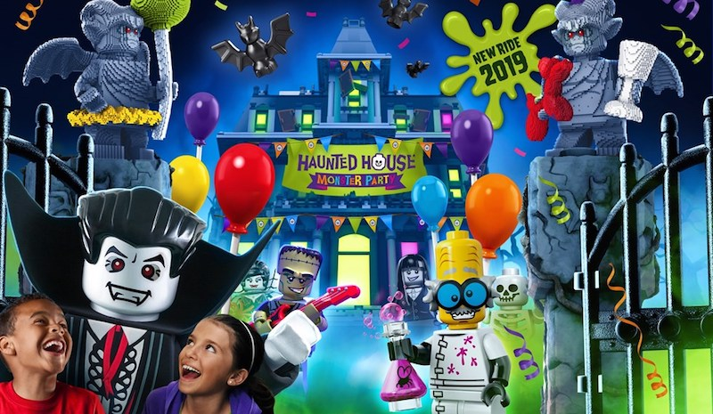 legoland windsor haunted house ride