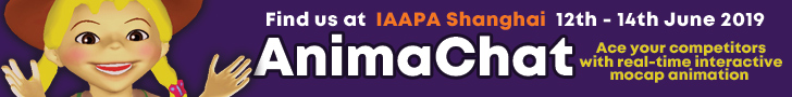 AnimaChat and Animalive at IAAPA Asia Shanghai 2019