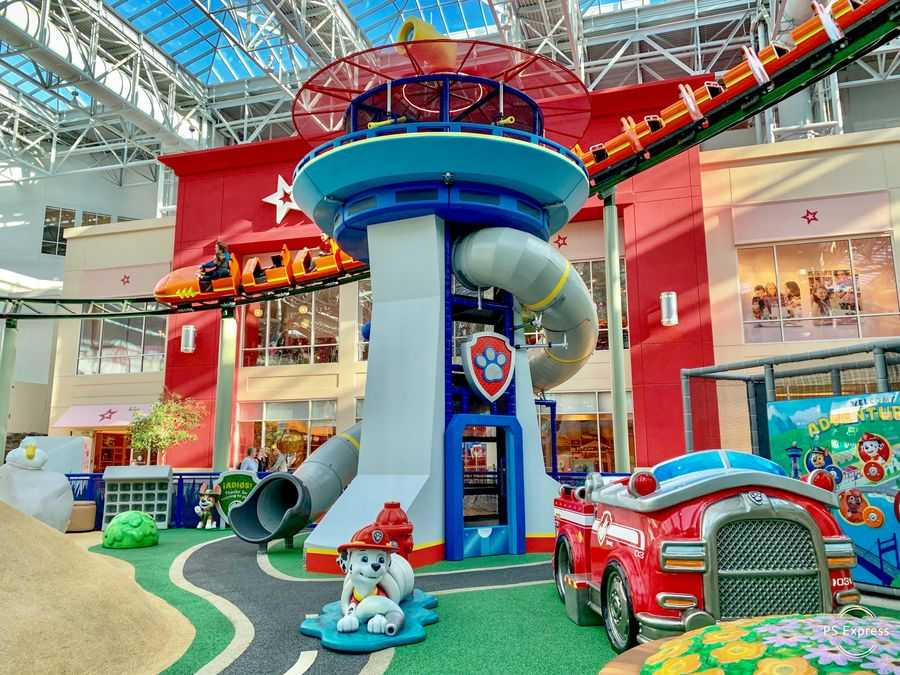 Paw Patrol Playground at Nick Universe theme park guest expectations