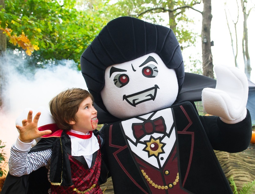 Lord Vampyre – star of Legoland Windsor's new Haunted House Monster Party