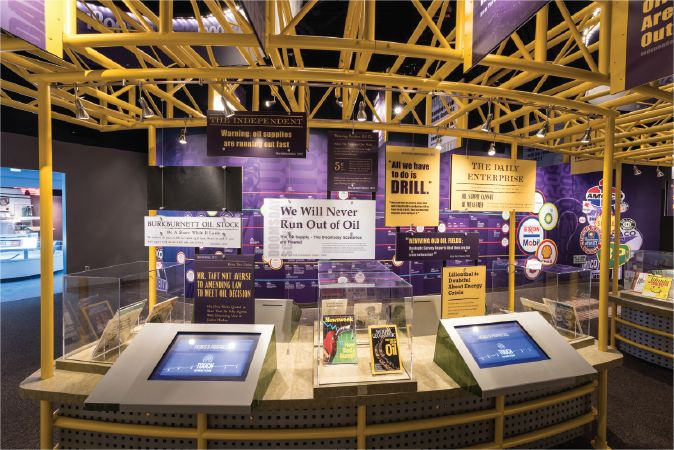 Lexington Companies of Nassal museum exhibit
