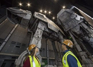 AT-AT Walkers star wars galaxys edge starships