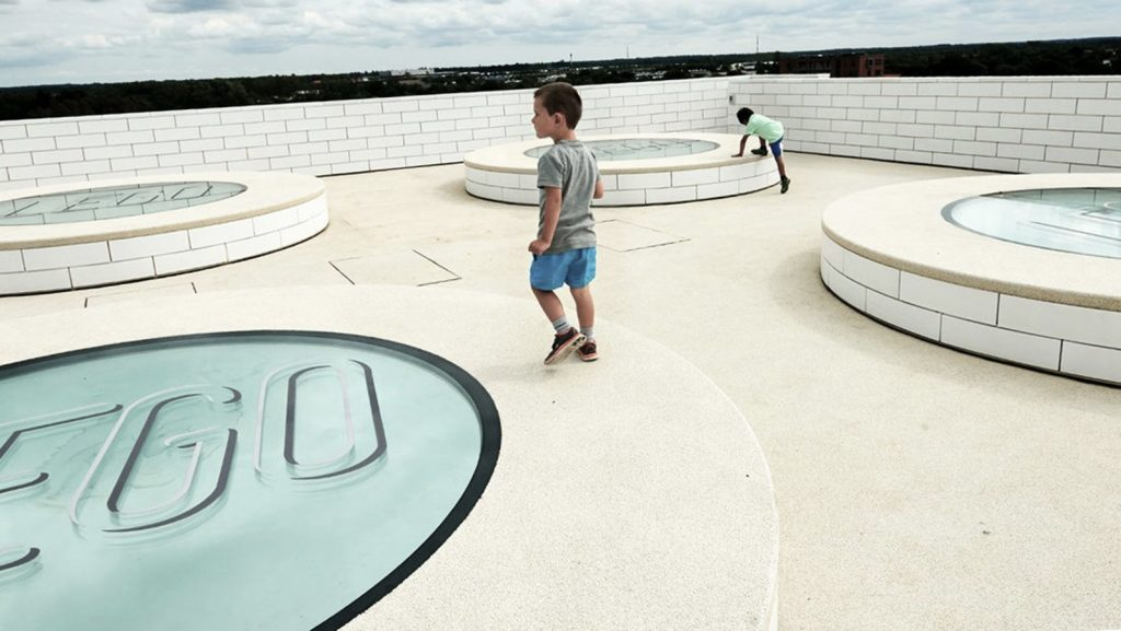 Lego-House-public-area-boy running around on roof