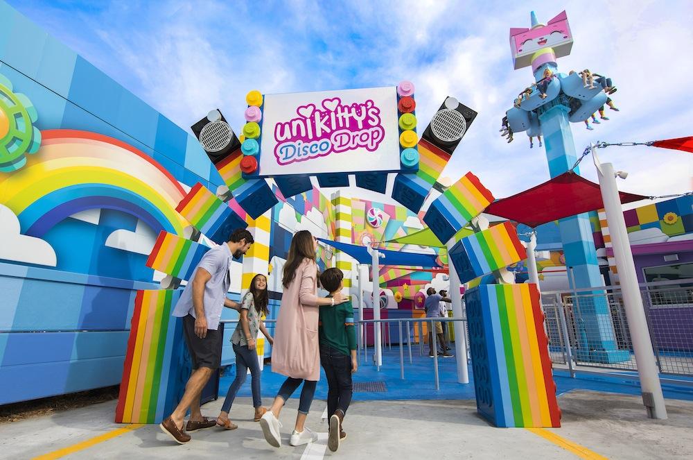 The-Lego-Movie-World-Legoland-Florida-Unkitty-Disco-Drop