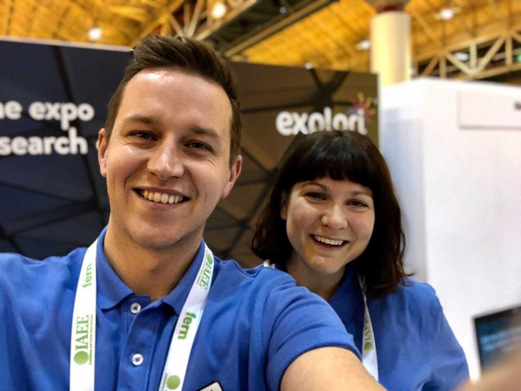 Sophie Holt and Richard Kensett of Explori