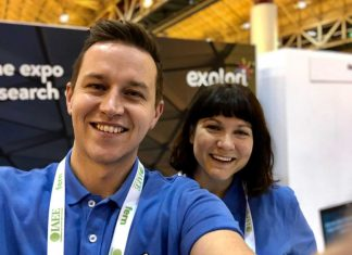 Sophie Holt and Richard Kensett of Explori