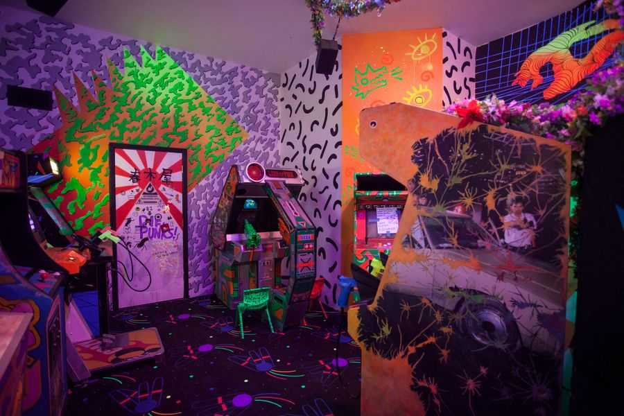 Meow Wolf arcade