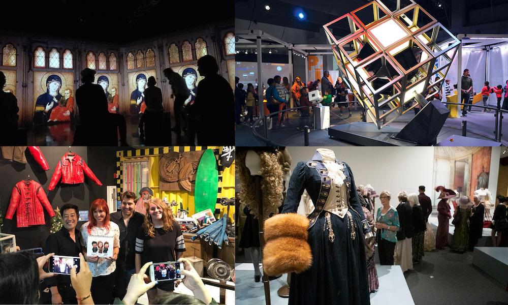 Exhibits Development Group EDG Collage