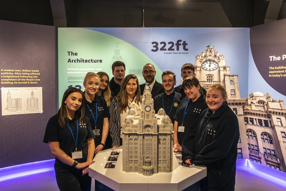 Royal-Liver-Building-360-RLB360-visitor-centre-staff-and-model
