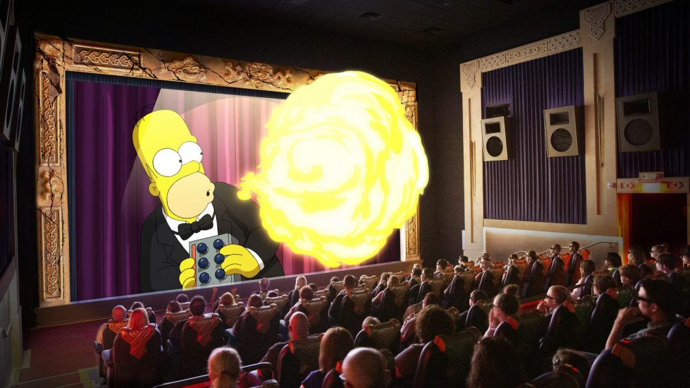 SimEx-Iwerks Simpsons 4D