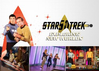 EDG Exhibits Development Group star trek