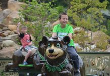 Ride entertainment black bear trail dollywood
