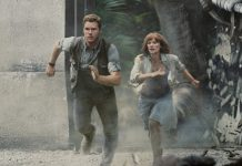 Jurassic World stars return for Universal Studios Hollywood's new ride
