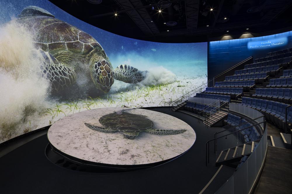 pacific visions theater at aquarium of the pacific