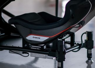RS Simulation DBOX sector one motion seat