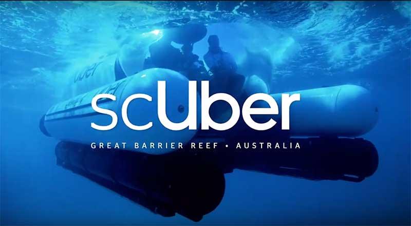 suber great barrier reef uber queensland tourism