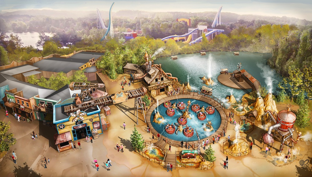 Walibi Belgium's Adventure World: a tatse of things to come