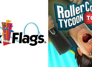 Six Flags Atari RollercoasterTycoon