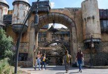 Star Wars: Galaxy's Edge is quieter than expected, aerial images reveal
