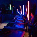 Lightsaber activation at Savi's Workshop