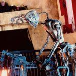 Smelter droid at Ronto roasters star wars galaxys edge photos blooloop