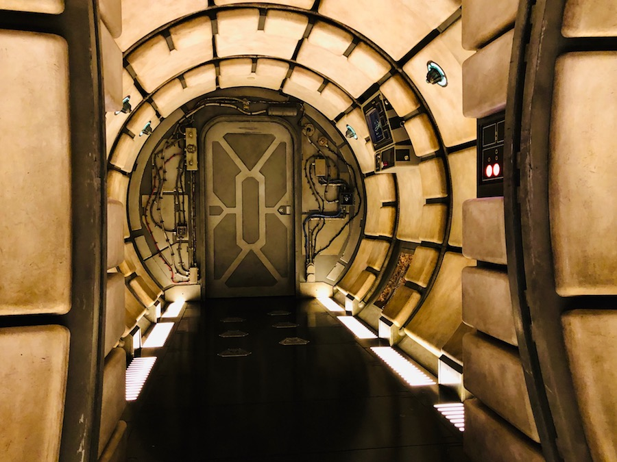 Cockpit entrance, Millennium Falcon: Smugglers Run SWGE