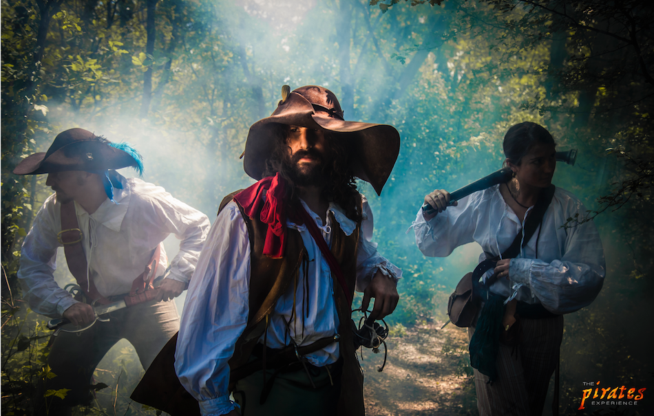 The-Pirates-Experience-Re-enactors-forest
