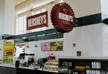Event Network first HERSHEY'S kitchens cafe