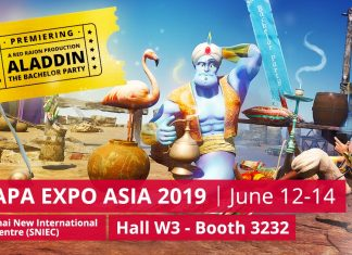Red Raion IAAPA expo