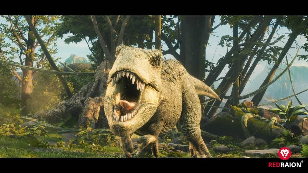 Jurassic War Red Raion