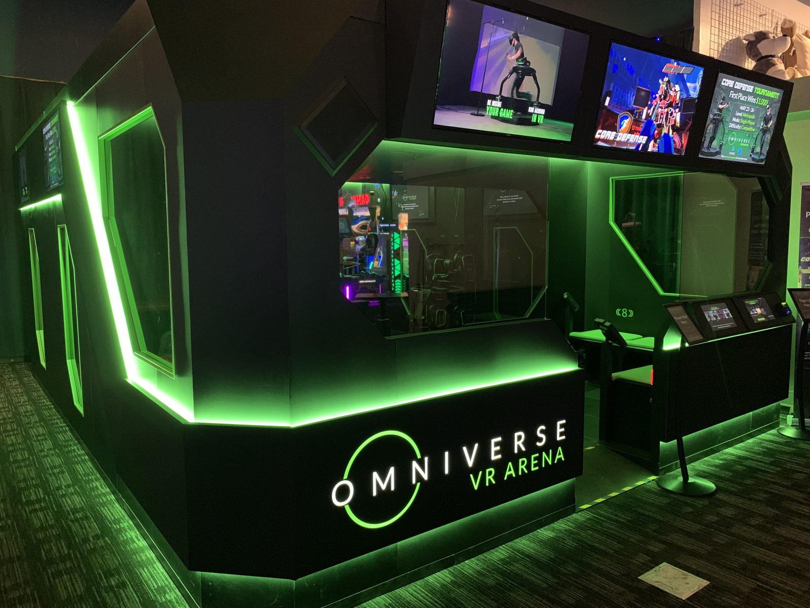 Dave And Busters Halloween 2020 Virtuix debuts VR Arena at Dave & Busters in Austin, Texas | blooloop