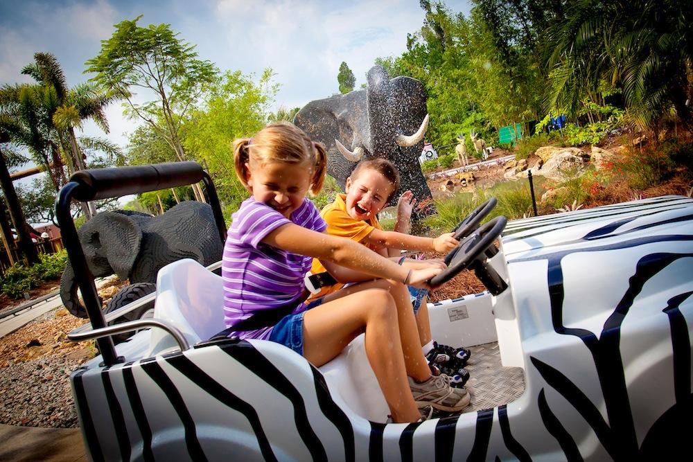 Legoland Florida jeep safari ride
