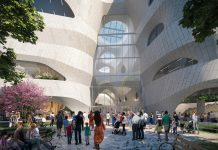 Studio Gang releases new renderings of AMNH's Richard Gilder Center