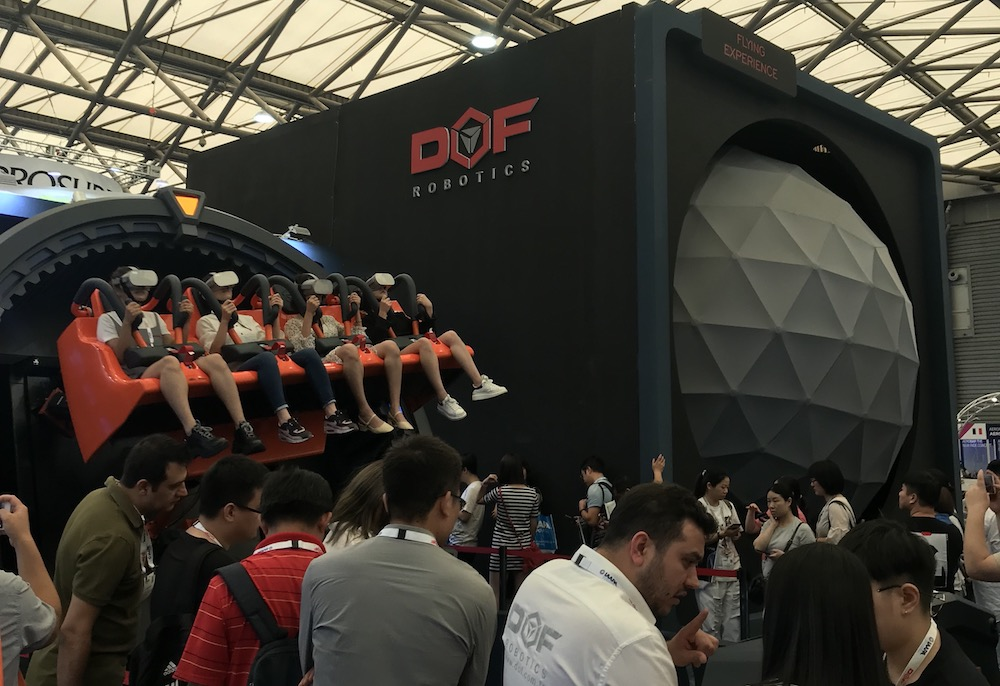 DOF at IAAPA Asia Expo 2019
